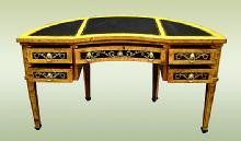 Fine Marquetry Italian 17th C. Style Florentine Desk