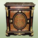 marble top Louis XV style boulle commode