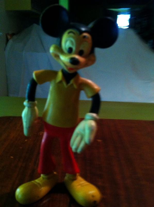 1940's flexi mickey figurine