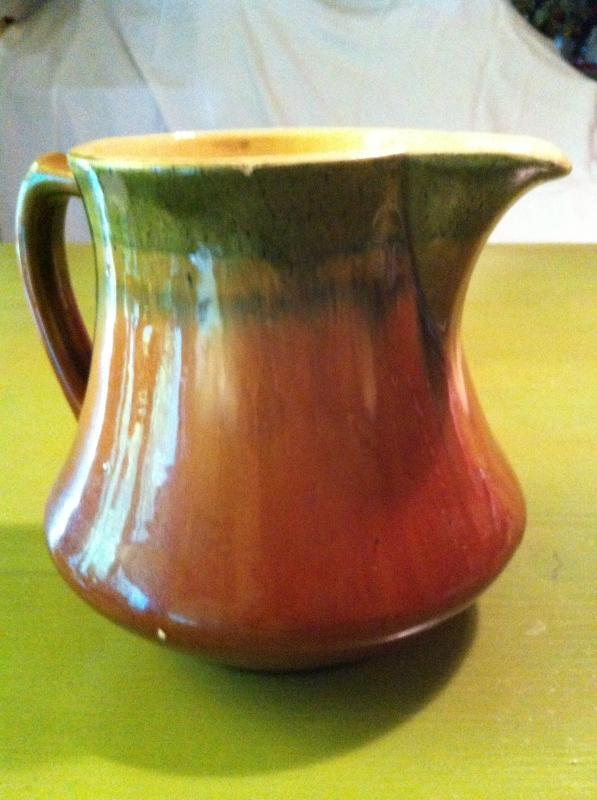 Dipped Ceramic Pitcher