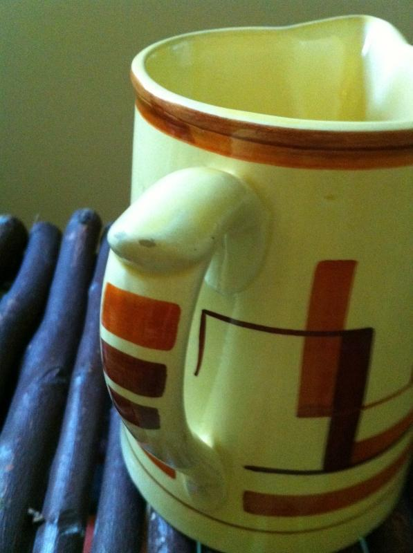 Art Moderne Pitcher