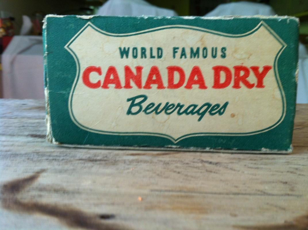 Canada Dry Salt and Pepper Shaker