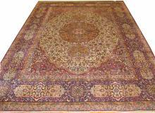 PERSIAN KERMAN ANTIQUE CARPET/RUG