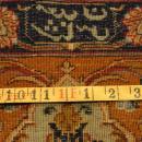 PERSIAN TABRIZ NEZAM CARPET/RUG SIGNED