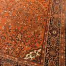 PERSIAN SAROUK FARAHAN ANTIQUE SMALL CARPET/RUG
