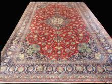 PERSIAN KASHAN VERY FINE CARPET/RUG 16' x 11'