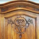 LARGE FRENCH LOUIS XV ARMOIRE WALNUT
