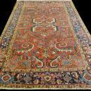PERSIAN ANTIQUE HERIZ SERAPI CARPET/RUG 10'.2