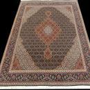PERSIAN TABRIZ MAHI SILK AND WOOL CARPET/RUG 6'8