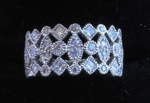 Beautful White Gold and Diamond Ring