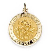 Saint Christopher U.S. Marine Corps Medal