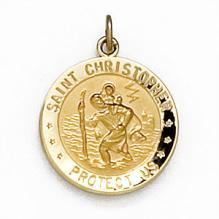 Saint Christopher U.S. Air Force Medal