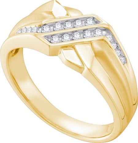 0.19CTW DIAMOND FASHION MENS RING