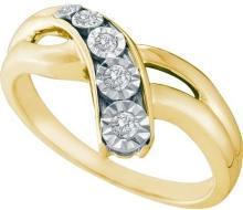 0.12CTW DIAMOND FASHION RING
