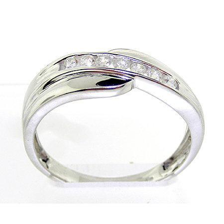 0.25CTW ROUND DIAMOND MENS FASHION BAND