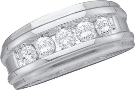 0.25CTW DIAMOND FASHION MENS BAND