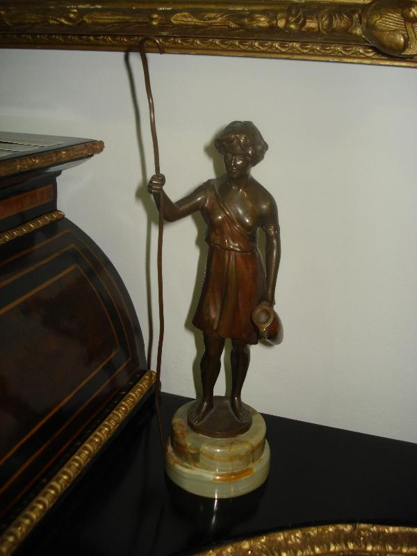 Bronze Classical Figure by Charles Keck, Early Twentieth Century