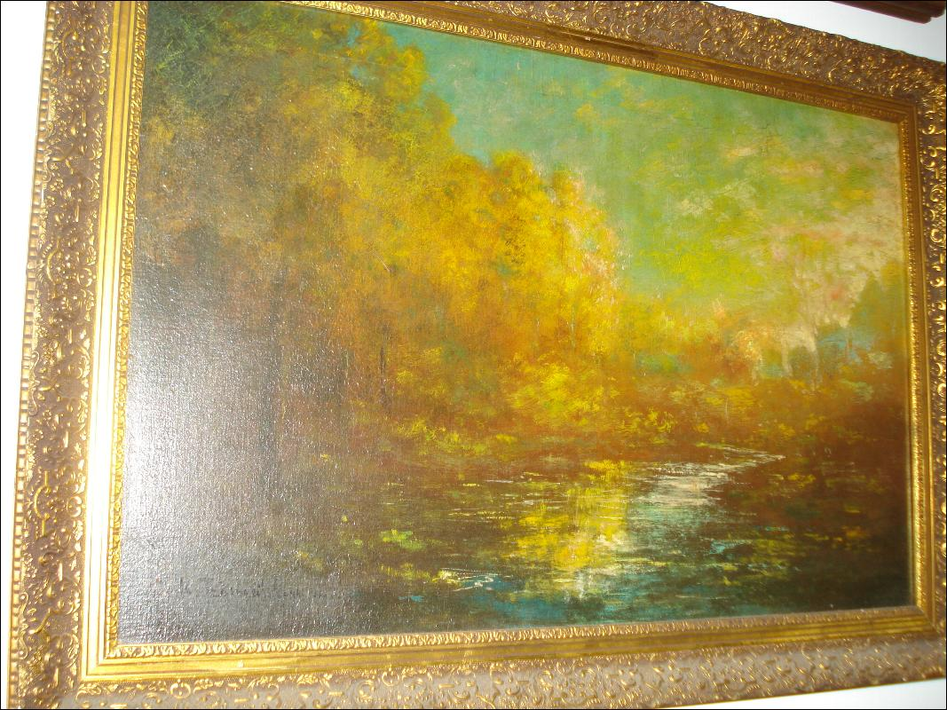 Signed Oil On Board, Nineteenth Century To First Quarter Twentieth Century,