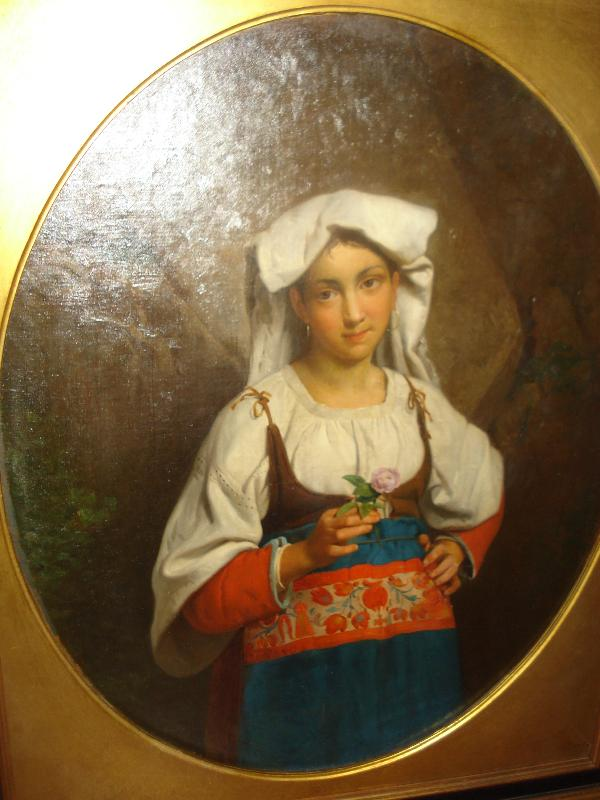 Oil On Canvas, Nineteenth Century, Signed, Italian,