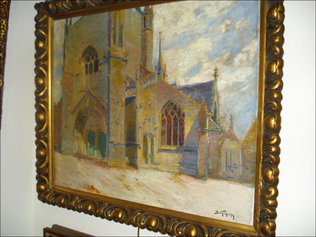 Oil on Canvas, Early Twentieth Century, Signed Behrmann, Adolph Behrmann, Russian),