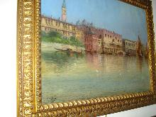 Oil On Canvas, Nineteenth Century, Italian, Signed L. Bertini,