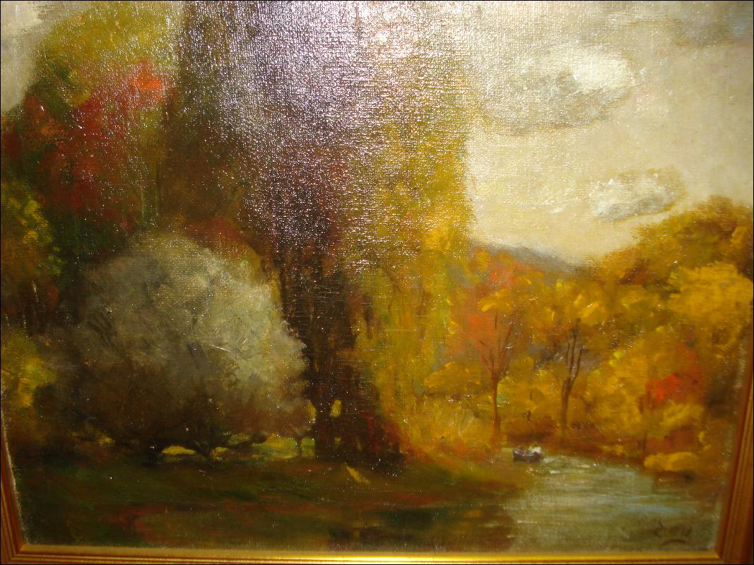 Early Twentieth Century Oil On Canvas, Signed,