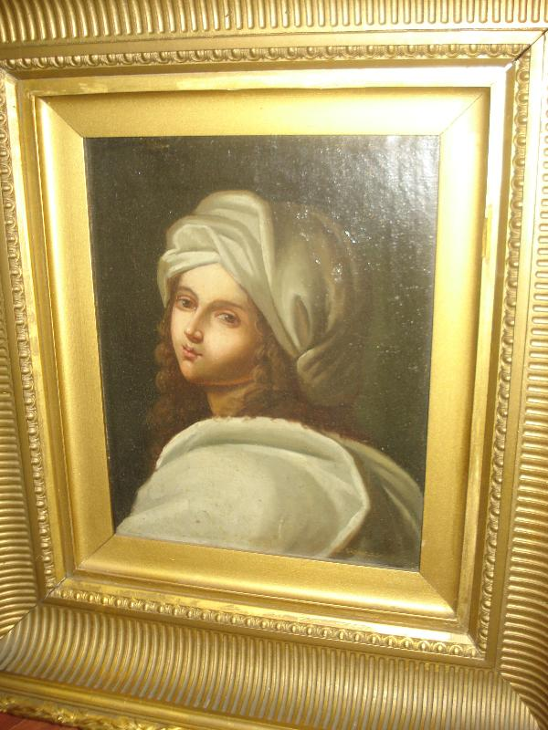 Nineteenth Century Oil On Canvas, Unsigned,