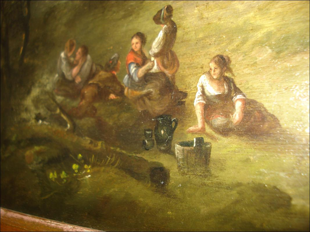 Late Seventeenth Century Oil On Board, Unsigned,