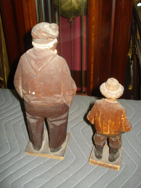 Early Twentieth Century Wood Carvings, Canadian, Folk Art