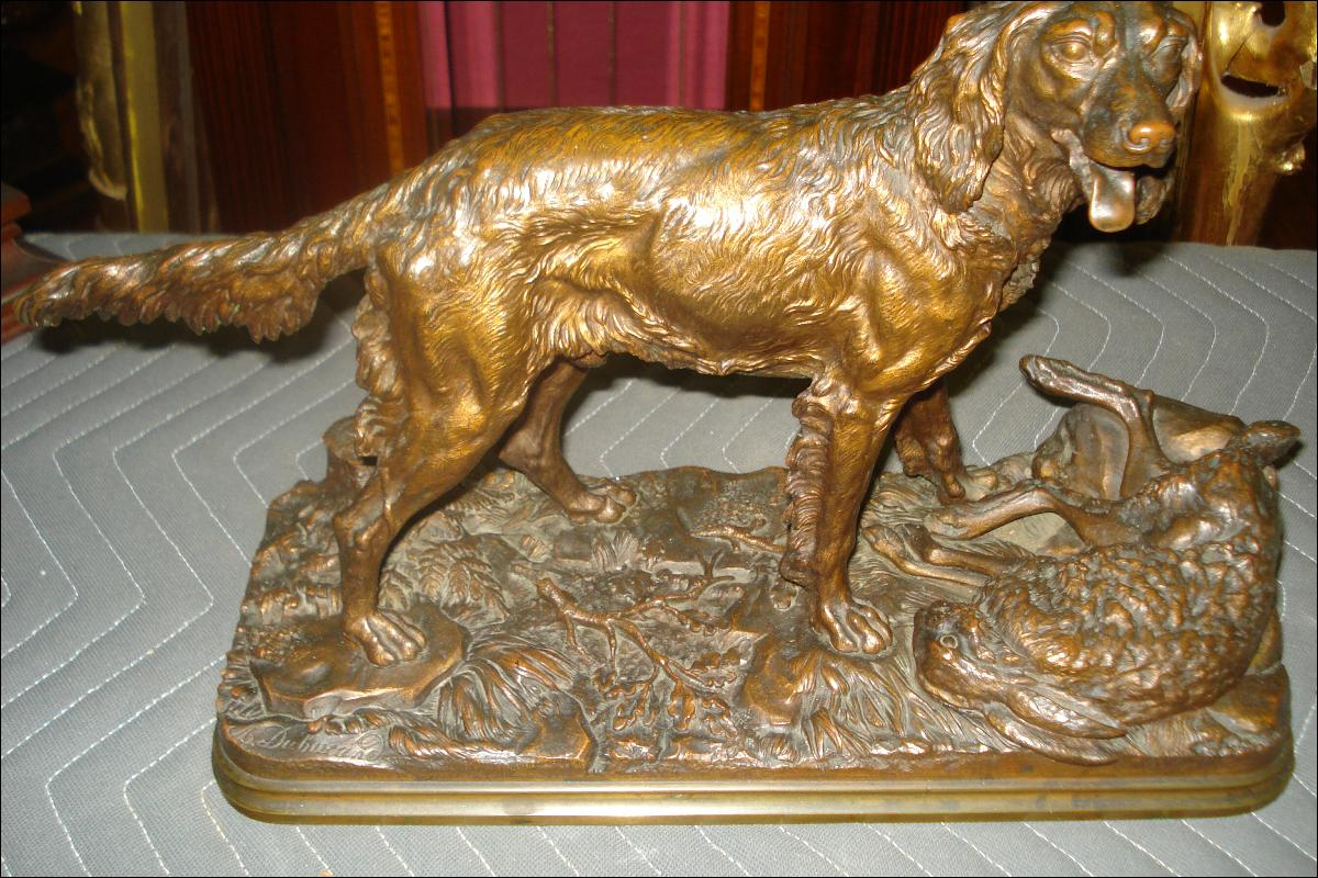 French Bronze, Nineteenth Century by Alfred Dubucand,