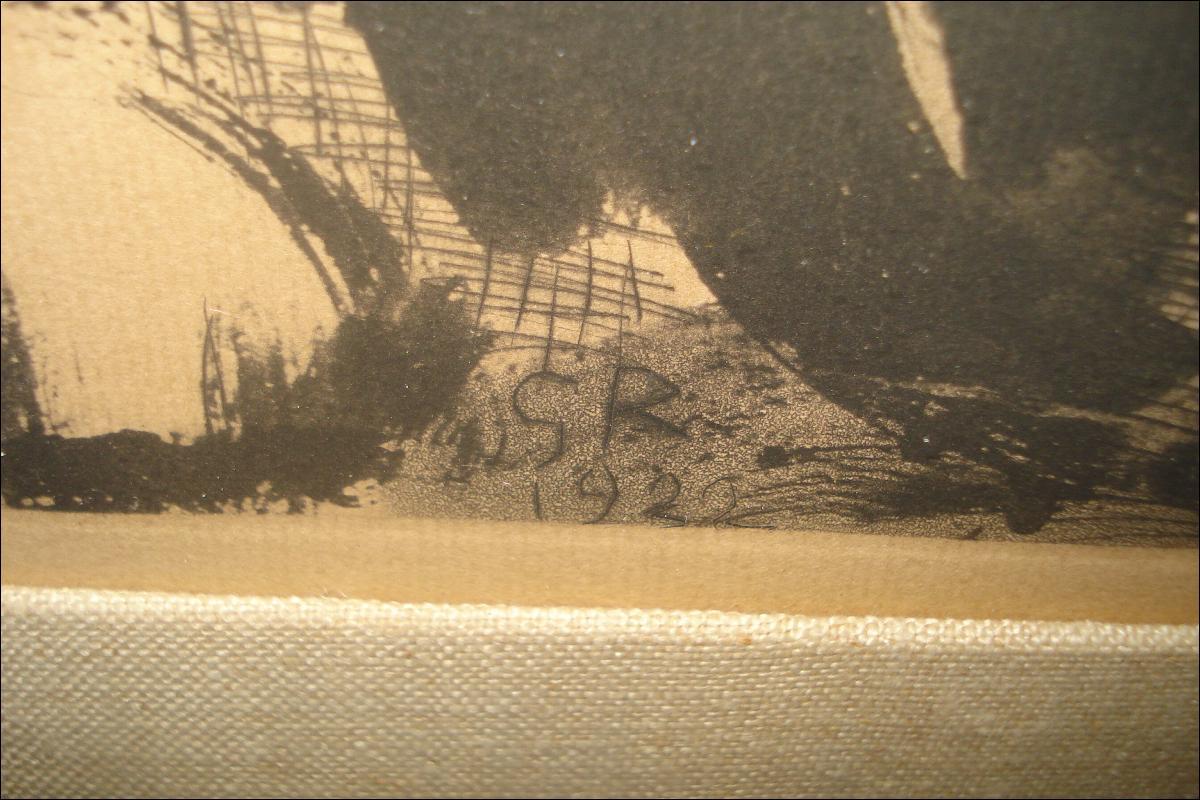 Original Georges Rouault Lithograph, 1922