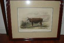 Nineteenth Century Hand Colored Copperplate Engraving by M. Emile Baudement,