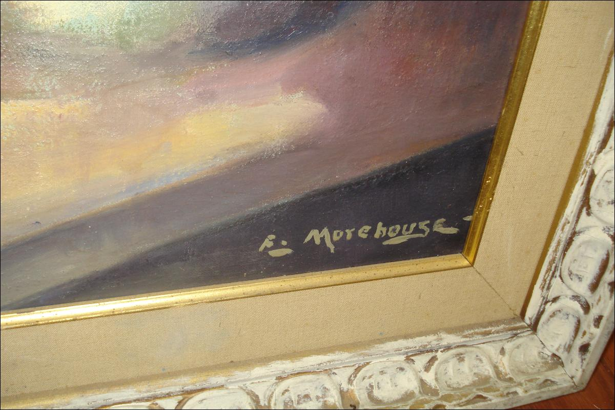 Oil On Board By Edith Morehouse (American),
