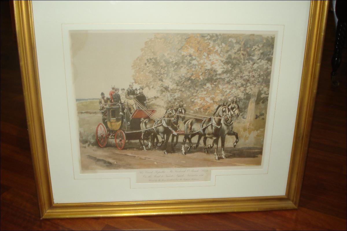 Late Nineteenth Century Lithograph,