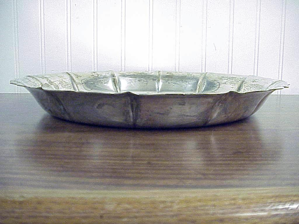 Vintage Georg Jensen USA Round Sterling Silver Platter #448 13.75