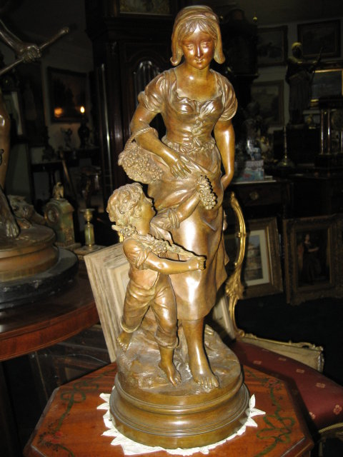 Antique 19th Century French Bronze by Kinsburger