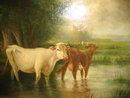 Nineteenth Century Oil on Canvas Signed Smith,