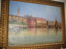 Nineteenth Century Oil on Canvas Signed Bertini,