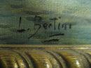 Nineteenth Century Oil on Canvas Signed Bertini,
