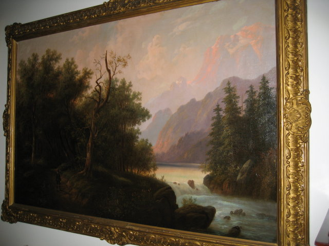 Late Nineteenth Century Oil on Canvas by Eduard Boehm,