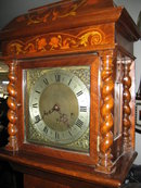 Late Nineteenth Century Grandmother Clock [Diminutive Sized Tallcase, Longcase, Grandfather Clock], Quarter Hour Striking, Spring Driven