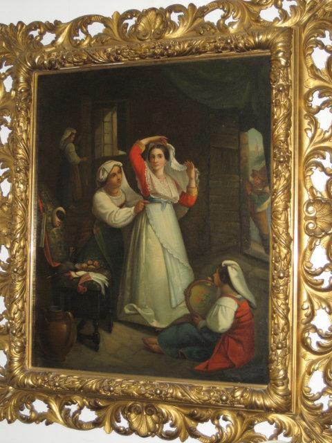Early Eighteenth Century Oil on Canvas Signed Kupetzki [Kupelzki, Kupecky, Kupezkey, Kepetzky, Kupecki],