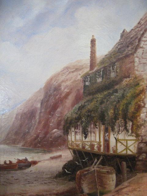 Late Nineteenth Century English Oil on Canvas Signed Arundate ,