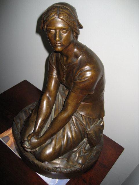 Original Late Nineteenth Century French Bronze by Henri Chapu