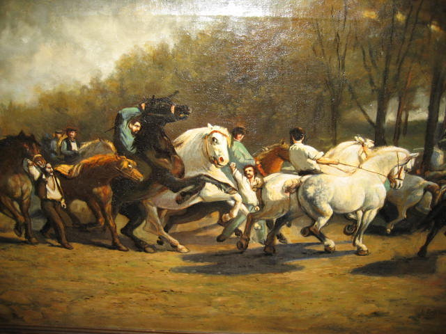 Nineteenth Century Oil on Canvas by Lucy Scott Bower,