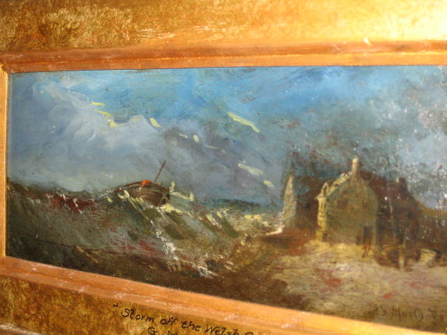Late Eighteenth Century Oil on Board by George Morland,