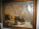 Nineteenth Century Dutch Oil on Canvas Attributed to Andreas Schelfout,