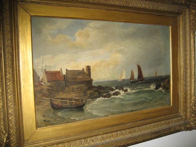 Nineteenth Century Oil on Canvas by Edmund Thornton Crawford,