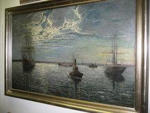 Nineteenth Century American Oil on Canvas by Thomas Jensen,