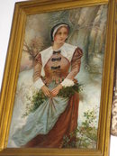 Late Nineteenth Century European Oil on Canvas, Unsigned,